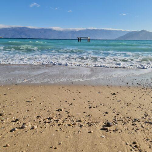 Baška beach Krk Island
